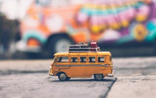 Mini Bus on Roadtrip